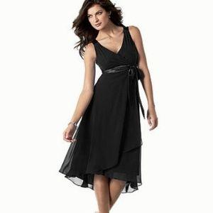 Evan Picone Black sleeveless dress size 8 NWT